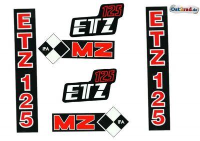 Sticker set ETZ 125