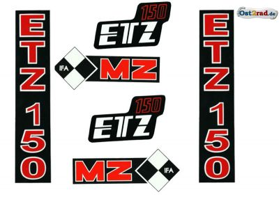 Sticker set ETZ 150