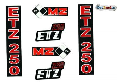 Jeu adhésif MZ ETZ 250