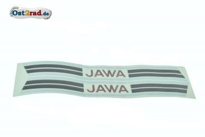 Sticker set for petrol tank Jawa Mustang