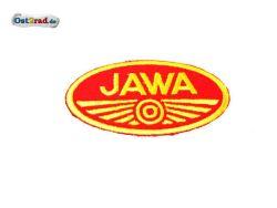 Patch Oval Jawa logo small red / yellow