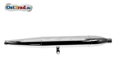 Auspuff Zigarre SIMSON AWO Sport 85cm ø35mm zerlegbar