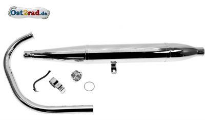 Auspuffsatz AWO Sport 35mm Zigarre
