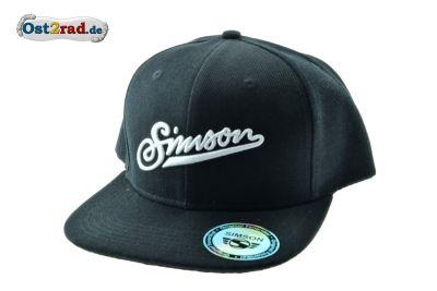 Basecap Schirmmütze schwarz SIMSON Schriftzug