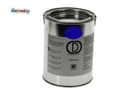 Originalfarbton dunkelblau TS 125 150 250 0,5l spritzfertig Basislack
