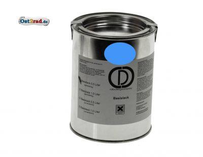 Laque de base bleu clair origine MZ TS ETZ 125 150, ETZ250 0,5l