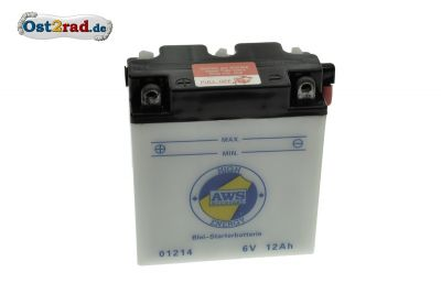 Battery 6V, 11A for Jawa Perak
