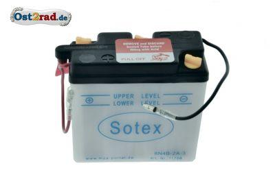 Batterie 6V, 2A (Preis zuzügl. Batteriepfand 7,50 ¤)