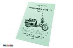 Operating instructions motor scooter Tatran S125