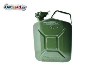 Benzinkanister Metall 5L Splintsicherung