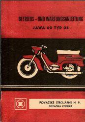 Betriebs- und Wartungsanleitung JAWA 50 Pionier Typ 05 deutsch