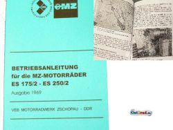Manual MZ ES 175 / 2, 250 / 2