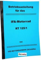 Handbook MZ motorcycle RT125 /1