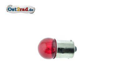 Ampoule 12V 5W BA15s rouge