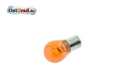 Bulb 12V 21W BA15s orange