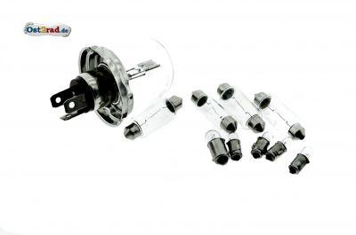 Birnensatz Glühlampen 6V passend für MZ ES 125 150 250 - BILUX