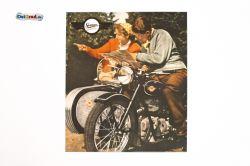Plaque en tôle peinte Simson AWO 425 T