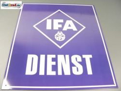 Tin Sign IFA SERVICE