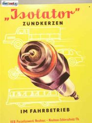 Tin Sign spark plug insulator