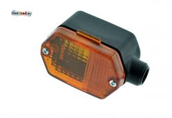 Blinker eckig passend für Simson SR50 SR80 S53 MZ ETZ mit Prüfzeichen