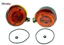Blinker Paar vorn passend für MZ TS ETZ Simson S51 S50 mit Prüfzeichen