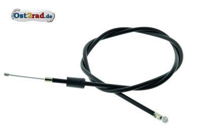 Bowdenzug, Gas (BVF) - schwarz - Enduro + 25mm - speziell für breite Lenker