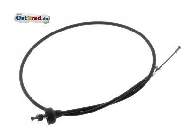 Bowdenzug, Kupplung, schwarz (Flachlenker) - 900x800x82 TS250, TS250/1, ETS250 - Kupplungszug