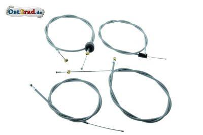 Bowdenzugsatz passend für MZ ES 175 250 /2 GRAU Import