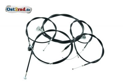 Cable set with front brake MZ ETZ, TS 250