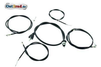 Bowden cable set BK 350