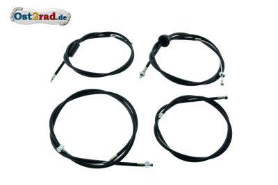Bowdenzugsatz passend für MZ ES 175 250 /0 /1 schwarz