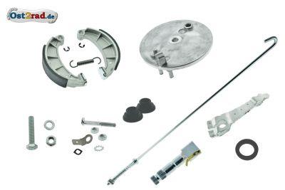Bremsankerplatte hinten komplett für Simson S51, S50 und KR51/2 Bausatz