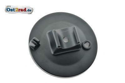 Bremsankerplatte vorn SIMSON S50 S51 SR50 schwarz MATT spezial Pulverbeschichtet