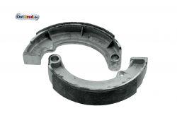 Bremsbackensatz passend für MZ TS250, TS250/1, ETZ 250, 251, 301 - DDR Altbestand