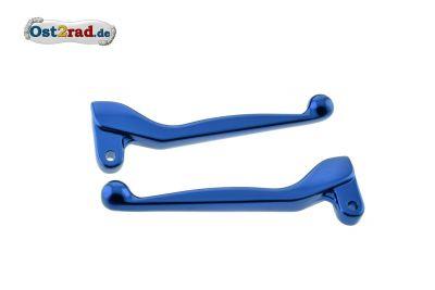 Brake lever, clutch lever SIMSON S51, SR50, blue