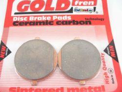 Brake pad - brake pads set JAWA 638, 639, 640