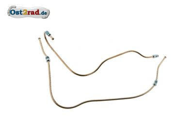 Brake hose for side car Superelastic, copper line