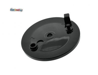 Bremsschild SCHWARZ hinten ohne Bohrung für Bremslicht S51 S53 KR51/2 SR50
