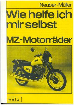 Buch MZ Motorräder - Wie helfe ich mir selbst