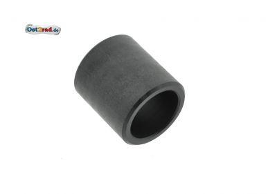 1x Polyamidbuchse, Lagerbuchse - schwarz - zur Schwinge - für Roller SR50, SR80