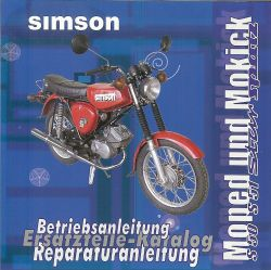 CD Simson Moped und Mokick S50 S51 Spatz Star