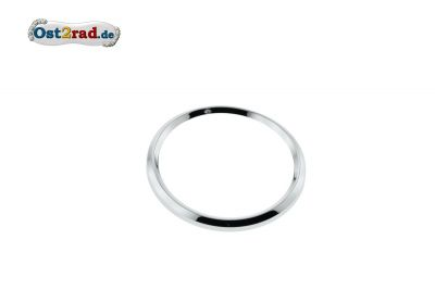 Speedometer ring 80 mm for MZ, chromium-plates