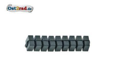 Dämpfungsgummi Zylinder 9 Elemente JAWA 638 639 640