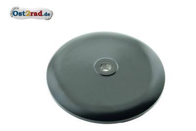 Deckel für Vorderradnabe - Aluminium, schwarz matt PPB