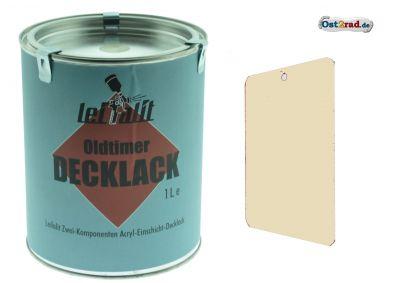 Lackfarbe, Decklack Leifalit 1 L Atlasweiss