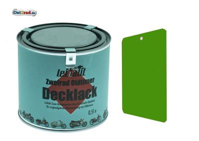Lackfarbe, Decklack SIMSON Leifalit 0,5L, gelbgrün