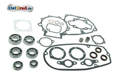 Kit joints roulements pour réparation moteur MZ ETZ 125 150