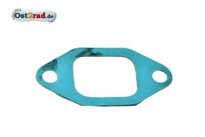Dichtung zum Ansaugstutzen passend für TS ES ETS 125 150 SR59 TR150 RT125/3 Plastasit blau