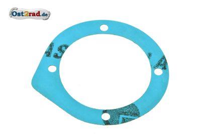Dichtung zur Dichtkappe Abtrieb für MZ ETZ 125 und 150 Plastasit blau