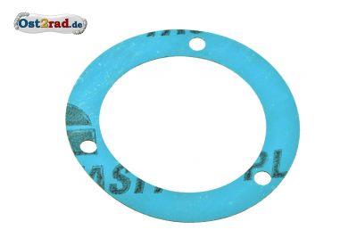 Dichtung für Dichtkappe unter dem Ritzel Abtriebswelle MZ ETZ 250 Plastasit blau